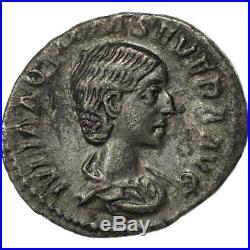 #507587 Aquilia Severa, Denier, Rome, TTB+, Argent, RIC226