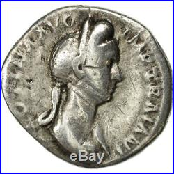 #507588 Plotina, Denier, Rome, TB, Argent, RIC730
