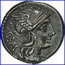 #507785 Aburia, Denier, Rome, TTB+, Argent, Crawford250/1