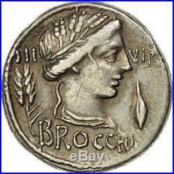 #508177 Furia, Denier, Rome, SUP, Argent, Crawford414/1