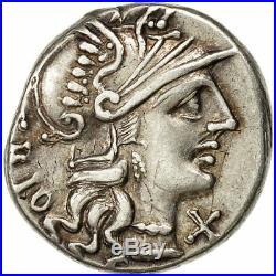 #508826 Lucretia, Denier, Rome, TTB+, Argent, Crawford237/1a