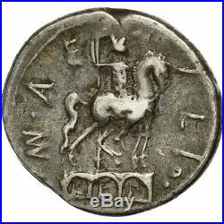 #508912 Monnaie, Aemilia, Denier, Rome, TTB, Argent, Crawford291/1