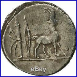#508916 Monnaie, Plancia, Denier, Rome, TTB+, Argent, Crawford432/1