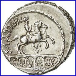 #509389 Monnaie, Marcia, Denier, Rome, SUP+, Argent, Crawford425/1