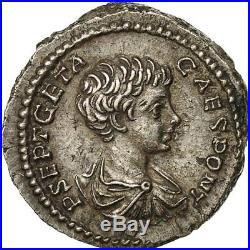#509399 Monnaie, Geta, Denier, 202, Rome, SPL, Argent, RIC20b