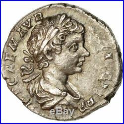 #509593 Monnaie, Caracalla, Denier, 198, Rome, Variété, SUP, Argent, RIC25b