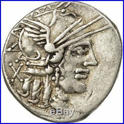 #511240 Monnaie, Papiria, Denier, Rome, TTB, Argent, Crawford276/1