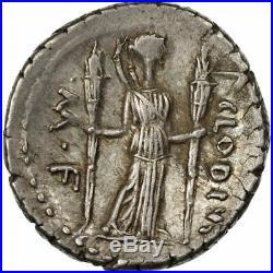 #511244 Monnaie, Claudia, Denier, Rome, SUP, Argent, Crawford494/23