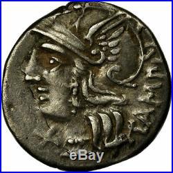 #513279 Monnaie, Baebia, Denier, 137 BC, Rome, TTB, Argent, Crawford236/1c