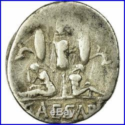 #515897 Monnaie, Julius Caesar, Denier, 46-45 BC, Atelier itinérant, TB+