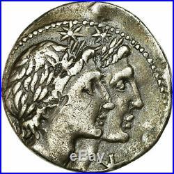 #517540 Monnaie, Plancia, Denier, 108-107, Rome, TB+, Argent, Crawford307/1b