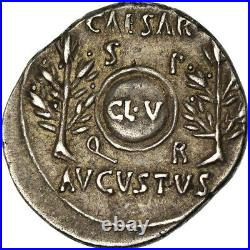 #519291 Monnaie, Auguste, Denier, 19-18 BC, Caesaraugusta, TTB+, Argent, RIC3