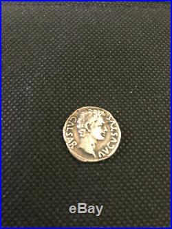 5 Monnaie Romaine Denier Auguste (Signis Receptis)