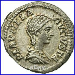 #61072 Monnaie, Plautille, Denier, Roma, SUP, Argent, Cohen1