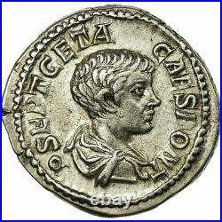 #61348 Monnaie, Geta, Denier, Roma, SUP+, Argent, Cohen38