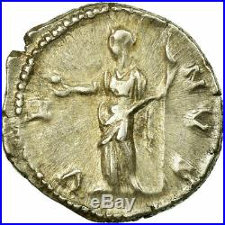 #61614 Monnaie, Lucille, Denier, 164-166, Roma, TTB+, Argent, Cohen70