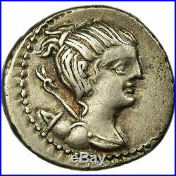 #64555 Monnaie, Postumia, Denier, Roma, SUP+, Argent, Babelon9