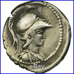 #64560 Monnaie, Vibia, Denier, Roma, TTB+, Argent, Babelon26