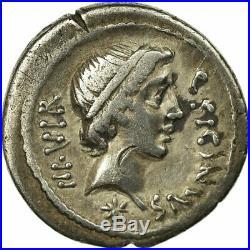 #64629 Monnaie, Sicinia, Denier, TTB+, Argent, Babelon1