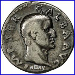 #650453 Monnaie, Galba, Denier, 68-69, Rome, TB+, Argent, RICmanque