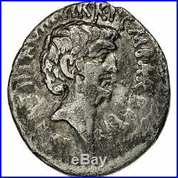 #650567 Monnaie, Marc Antoine, Denier, Ephesos, Rare, TB+, Argent