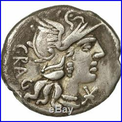 #651990 Monnaie, Antestia, Denier, Rome, TB+, Argent, Crawford238/1