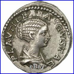 #652333 Monnaie, Plautille, Denier, 202, Roma, TTB+, Argent, RIC361