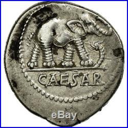 #652412 Monnaie, Julius Caesar, Denier, Rome, TTB+, Argent, Crawford443/1