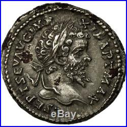 #652536 Monnaie, Septime Sévère, Denier, 198, Roma, SUP+, Argent, RIC504