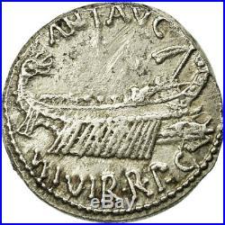 #653273 Monnaie, Marc Antoine, Denier, 32-31 BC, Atelier incertain, TTB