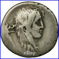 #654041 Monnaie, Hostilia, Denier, Rome, B+, Argent, BMC3996