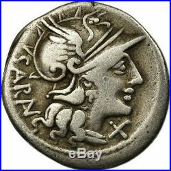 #654042 Monnaie, Atilia, Denier, Rome, TB+, Argent, Crawford214/1b