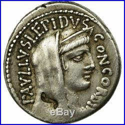 #654048 Monnaie, Aemilia, Denier, Rome, TTB, Argent, Crawford415/1