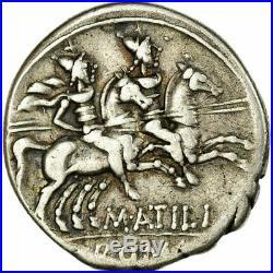 #656090 Monnaie, Atilia, Denier, Rome, TTB, Argent, Crawford214/1a