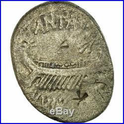 #656136 Monnaie, Marc Antoine, Denier, Atelier itinérant, TB, Argent