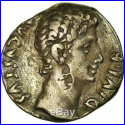 #657396 Monnaie, Auguste, Denier, 11-10 BC, Lyon Lugdunum, TTB, Argent