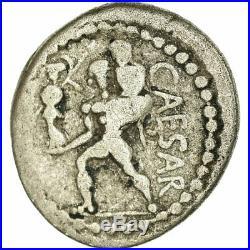 #657552 Monnaie, Julius Caesar, Denier, Rome, TB, Argent, Crawford458/1