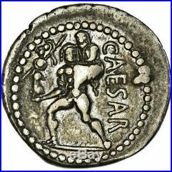 #658065 Monnaie, Julius Caesar, Denier, Rome, SUP, Argent, Crawford458/1
