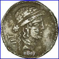 #658069 Monnaie, Julius Caesar, Denier, Rome, Brockage, TTB, Argent
