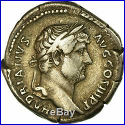 #658100 Monnaie, Hadrien, Denier, Rome, Rare, TTB, Argent, RIC310