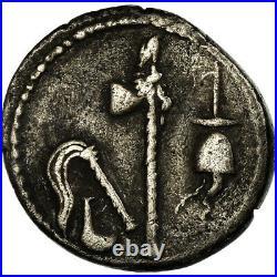 #658516 Monnaie, Julius Caesar, Denier, TTB, Argent, Crawford443/1