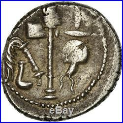 #658769 Monnaie, Julius Caesar, Denier, Atelier itinérant, TTB, Argent