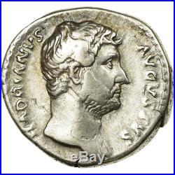 #66816 Monnaie, Hadrien, Denier, Rome, TTB, Argent, Cohen218