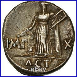 #853106 Monnaie, Auguste, Denier, 15-13 BC, TTB, Argent