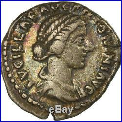 #861209 Monnaie, Lucille, Denier, 161-162, Roma, TTB, Argent, RIC788