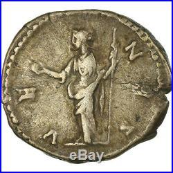 #861213 Monnaie, Lucille, Denier, 164-166, Roma, TTB+, Argent, Cohen70