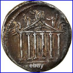 #865599 Monnaie, Petillia, Denier, 43 BC, Roma, TTB, Argent, Crawford487/2