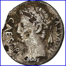 #872995 Monnaie, Auguste, Denier, Caesaraugusta, TB+, Cuivre plaqué Argent