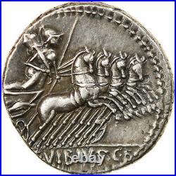 #875491 Monnaie, Vibius, Denier, 90 BC, Rome, SUP, Argent, Crawford342/5b