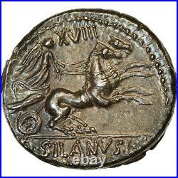 #890449 Monnaie, Junia, Denier, 91 BC, Rome, SUP+, Argent, Crawford337/3